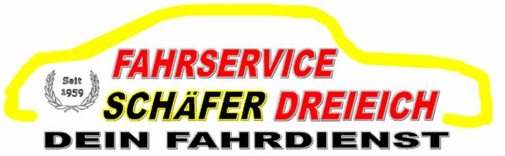Logo von Fahrdienst Schäfer (vormals TAXI Schäfer)